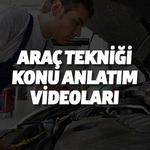 Araç Tekniği Konu Anlatım Videoları